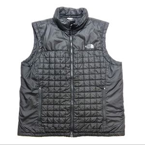 Men's The North Face Vest Jacket Quilted ZIP Up